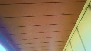 太田市只上町S様邸 付帯部軒天下塗り