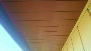 太田市只上町S様邸 付帯部軒天塗装完成