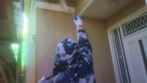 佐波郡玉村町O様邸 外壁の洗浄