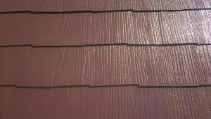 佐波郡玉村町O様邸 下屋根塗装上塗り1回目