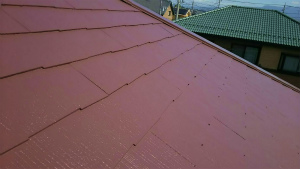 佐波郡玉村町O様邸 大屋根塗装完成