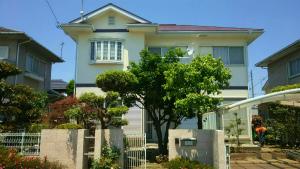 佐波郡玉村町O様邸 外壁と屋根の塗装工事 全体1