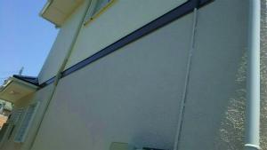 佐波郡玉村町O様邸 外壁と屋根の塗装工事 外壁アップ