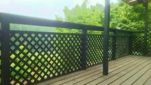 渋川市中郷町M様邸 ウッドデッキ塗装前2