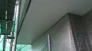 前橋市総社町K様邸 軒天上塗り完成