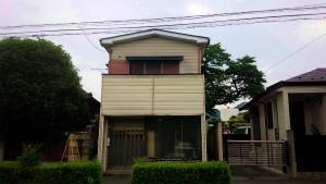 桐生市東久方町I様邸 屋根の塗装完成①