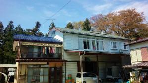 利根郡昭和村Y様邸 屋根塗装工事前①