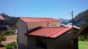 利根郡片品村H様邸 屋根下塗り完成