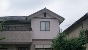 前橋市総社町K様邸 外壁塗装完成 窓アップ