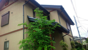 高崎市昭和町K様邸 外壁部分塗装工事前②