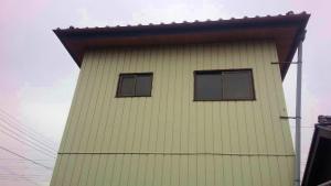 太田市只上町S様邸 外壁塗装工事前②