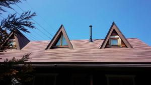 利根郡片品村K様邸 屋根の塗装工事前