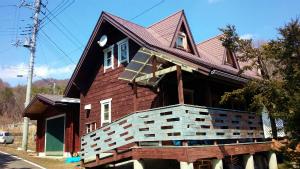 利根郡片品村K様邸 外壁と屋根の塗装工事前