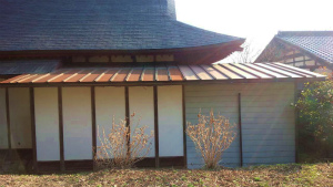利根郡川場村E様邸 屋根塗装工事前①