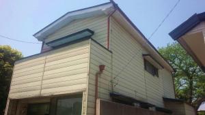 桐生市東久方町I様邸 屋根の塗装工事前②