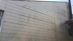 前橋市富士見町I様邸 外壁塗装前の汚れ