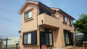 伊勢崎市市場町S様邸 外壁と屋根塗装工事完成