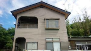 前橋市柏倉町H様邸 外壁と屋根の塗装完成 正面
