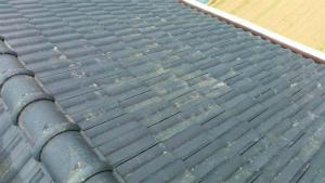 桐生市新里町K様邸 屋根の洗浄工事完了