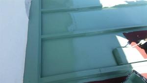 前橋市柏倉町H様邸 別棟屋根の塗装