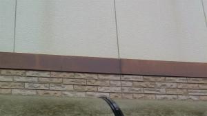 前橋市総社町K様邸 外壁塗装前の損傷部分
