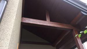 高崎市昭和町K様邸 木部塗装⑦