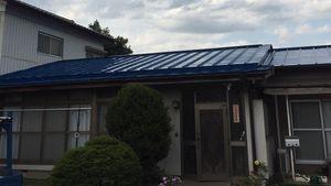 前橋市上泉町F様邸 屋根塗装完成②
