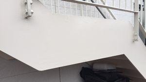 前橋三俣町Y様邸 鉄骨階段塗装完成②