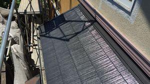 佐波郡玉村町S様邸 下屋根塗装完成