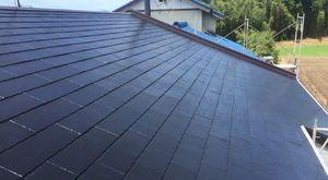 前橋市富士見町I様邸 屋根の塗装完成