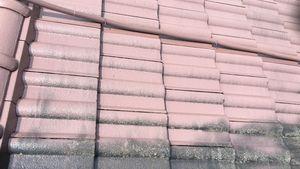桐生市新里町K様邸 屋根塗装の上塗り1回目