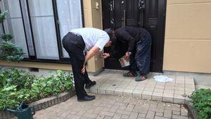 桐生市新里町K様邸 塗装後の点検作業
