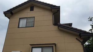 桐生市新里町K様邸 外壁・屋根の塗装工事完成①