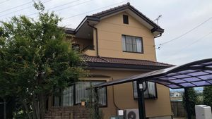 桐生市新里町K様邸 外壁・屋根の塗装工事完成②
