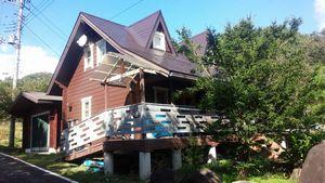 外壁・屋根塗装完成 群馬 別荘 アサヒペイント