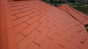 高崎市貝沢町A様邸 屋根塗装完成2
