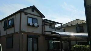高崎市足門町M様邸 外壁・屋根塗装前2