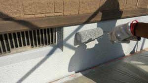 高崎市足門町M様邸 外壁の基礎上塗り