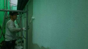 高崎市足門町M様邸 外壁下塗り