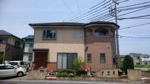 高崎市貝沢町A様邸 屋根塗装前 正面