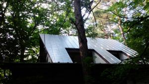 北佐久郡軽井沢町T様邸 屋根の塗装完成