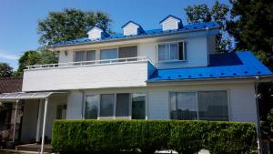 沼田市岡谷町M様邸 外壁と屋根塗装完成