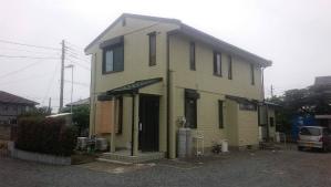 前橋市亀泉町S様邸 外壁と屋根塗装完成