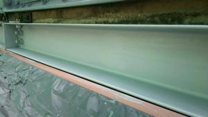 安中市板鼻 M工場様 貯水タンク亜鉛メッキ部下塗り完成