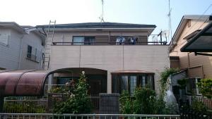 茨城県古河市S様邸 外壁・屋根塗装前①