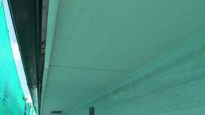 茨城県古河市S様邸 付帯部軒天下塗り