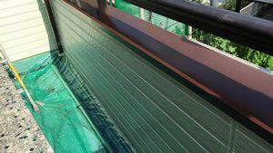 茨城県古河市S様邸 付帯部ベランダ笠木塗装完成