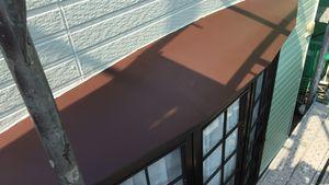 茨城県古河市S様邸 付帯部出窓屋根塗装完成