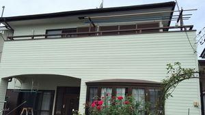 茨城県古河市S様邸 足場解体作業終了