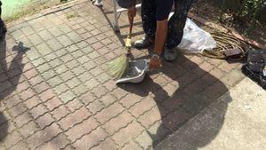 茨城県古河市S様邸 清掃作業